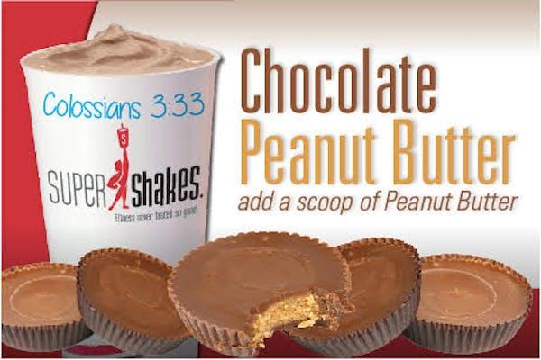 Super Gain Chocolate Peanut Butter Cup Shake