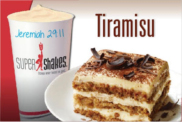 Super Meal Tiramisu Shake