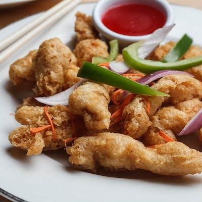 Chicken Tempura Entrée