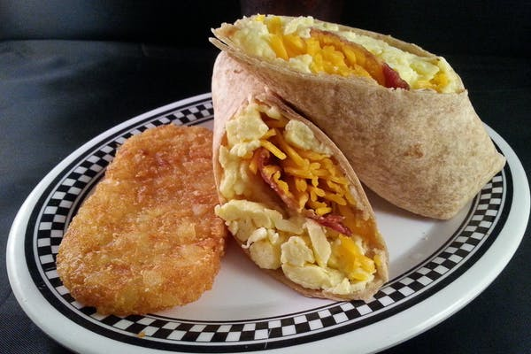Breakfast Wrap Combo