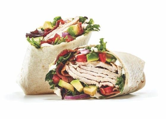 Turkey, Bacon & Avocado Wrap