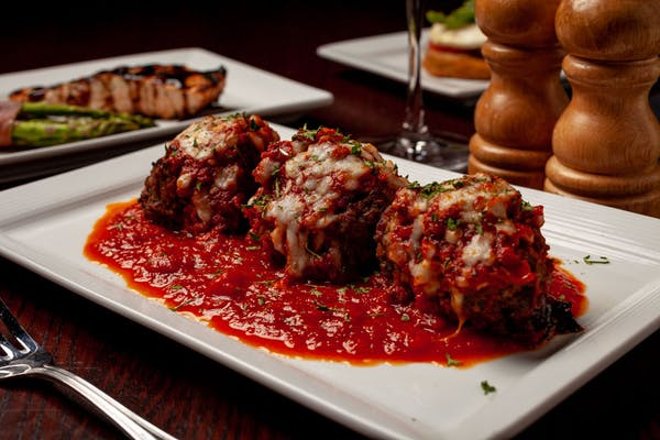 Stuffed Italian Meatballs