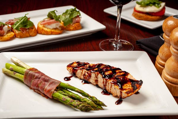 Grilled Balsamic Salmon
