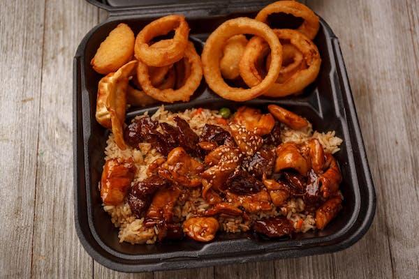 Chicken & Steak Combo Plate