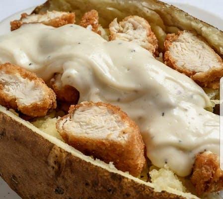 Fried Chicken Tender Potato