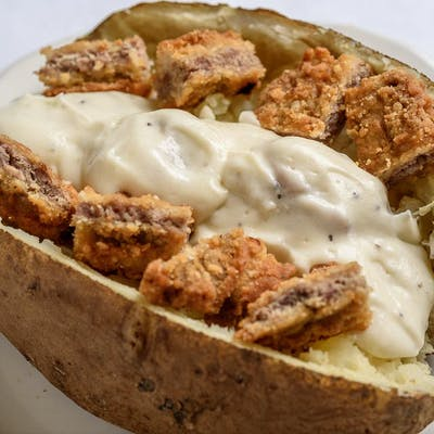 Chicken Fried Steak Potato