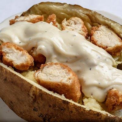 Fried Chicken Tenders Potato