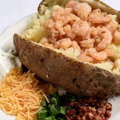 Grilled Shrimp Potato