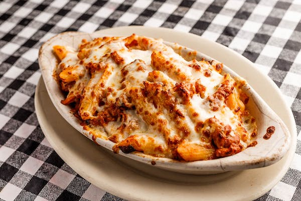 Baked Ziti with Red Sauce
