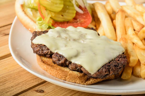 Deluxe Burger & Fries