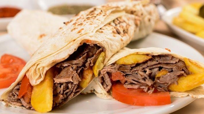 "Gyro Pita 7"" Sandwich"