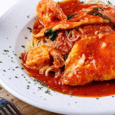 Chicken & Shrimp Fra Diavolo