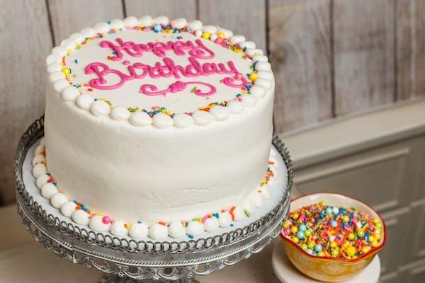 Build Your Own Vanilla Cake