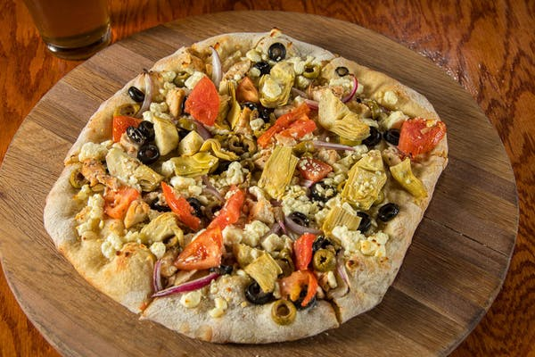 Greek Supreme Pizza