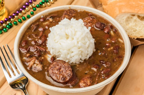 Red Beans & Rice cup