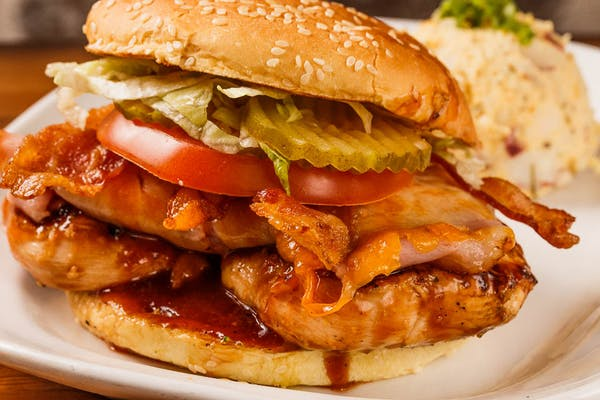 Jazzy BBQ Chicken Club
