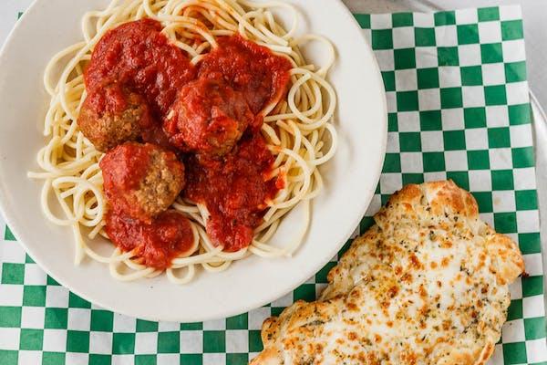 Spaghetti with Beef Meatball