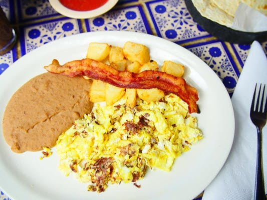 Machacado & Eggs