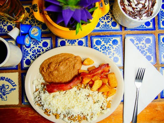 Chilaquiles with Green Sauce