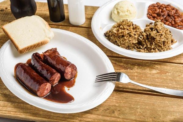 BBQ Sausage Dinner