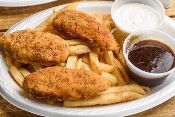 (3 pc.) Chicken Strip Basket