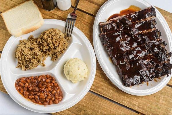 Pork Rib (½) Rack Dinner