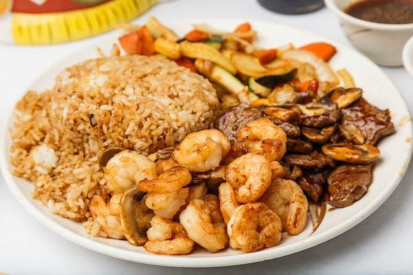 Sukiyaki Steak & Shrimp
