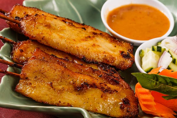 A7. Chicken Satay