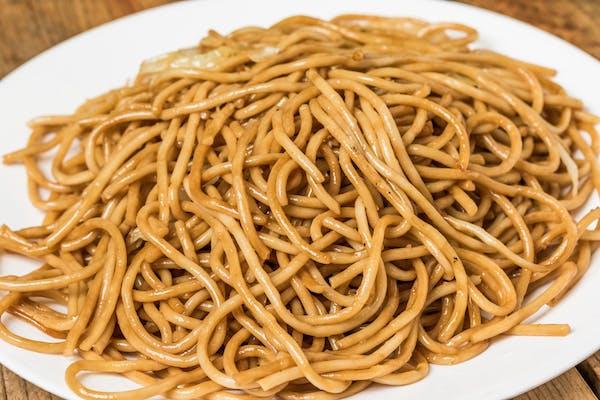 Lo Mein Noodles Entrée