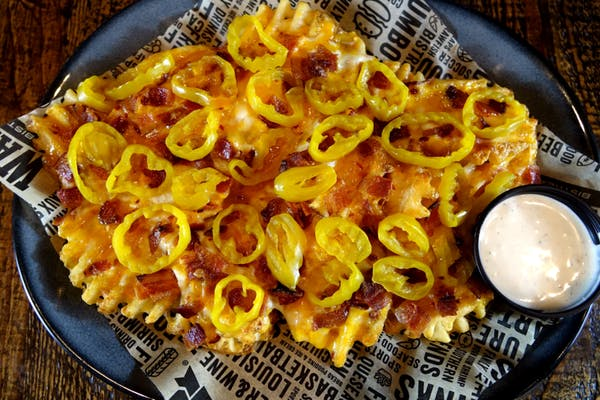 Waffle Cheese Fries