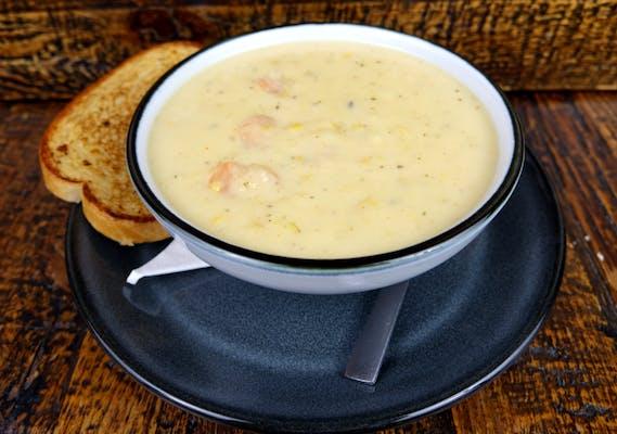 Shrimp & Corn Soup