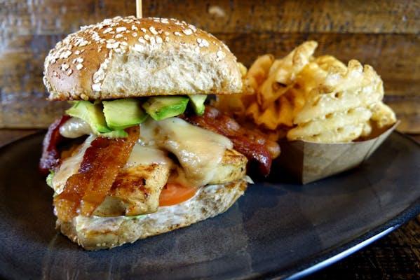 Grilled Chicken Avocado Club