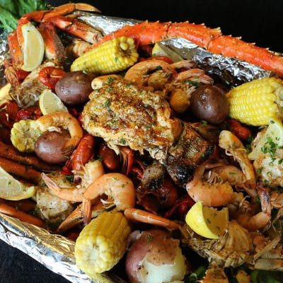 Boiled Seafood Feast