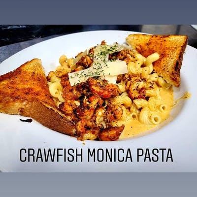 Crawfish Monica Pasta
