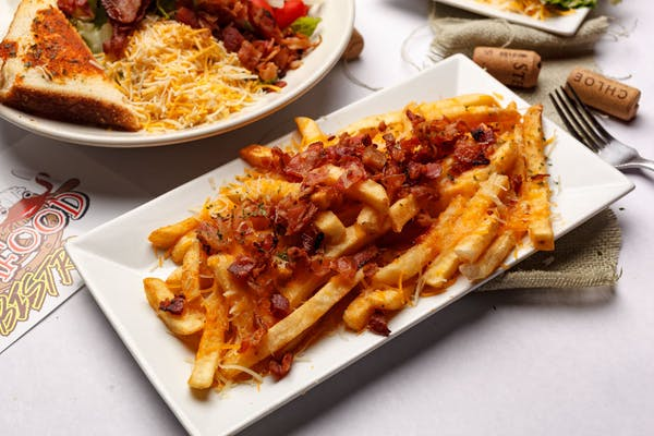 Cajun Bacon Cheddar Fries Appetizer