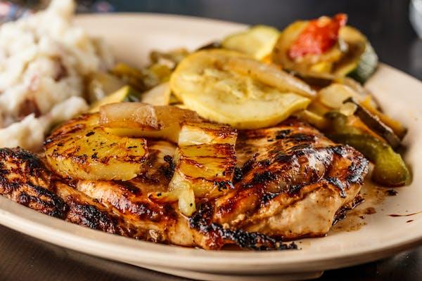Grilled Hawaiian Chicken Breast