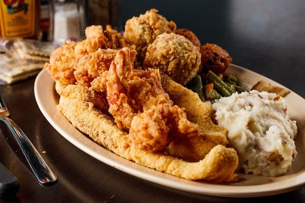Bayou Seafood Platter