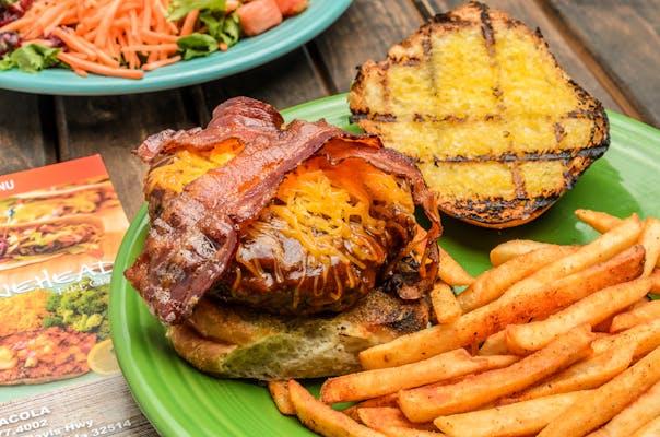 Piri BBQ Burger