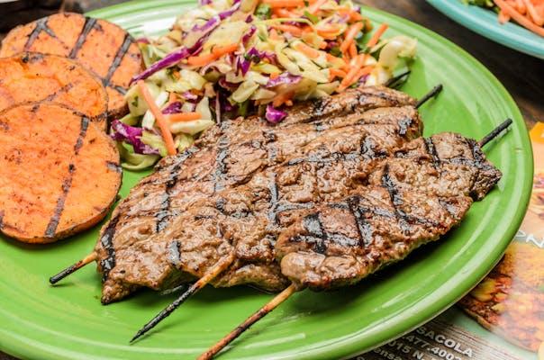 Marinated Steak Skewers