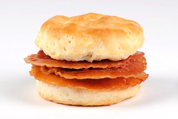 Triple Bacon Biscuit