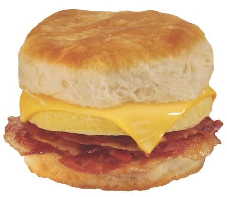 Triple Bacon, Egg & Cheese Biscuit