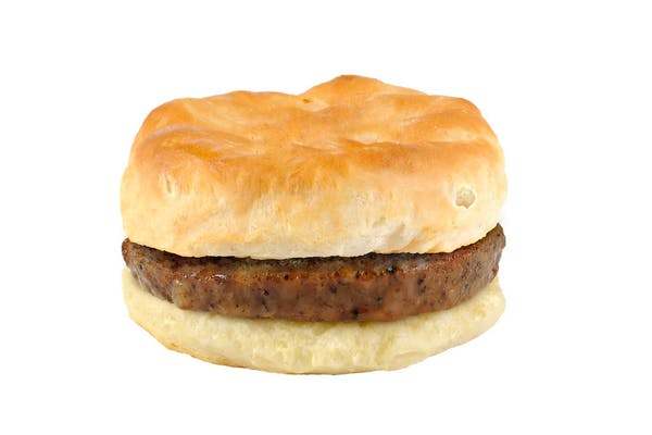 (2) Sausage Biscuits