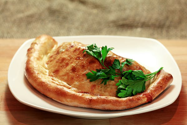 Four-Meat Calzone
