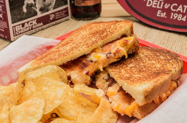 Grilled Pimento Cheese & Bacon Sandwich