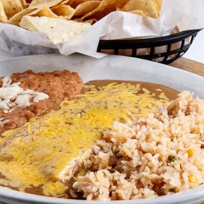 Beef Enchilada Dinner