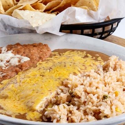 Campeche Enchilada Dinner