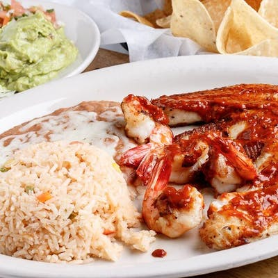 Mexican Seafood Platter