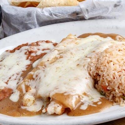Shrimp Enchilada Dinner