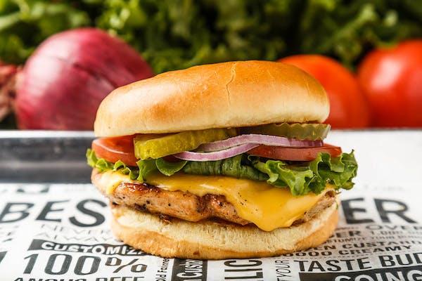 Classic Chicken & Cheese Sandwich
