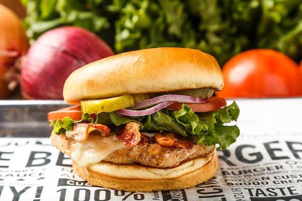 Bacon & Swiss Chicken Sandwich